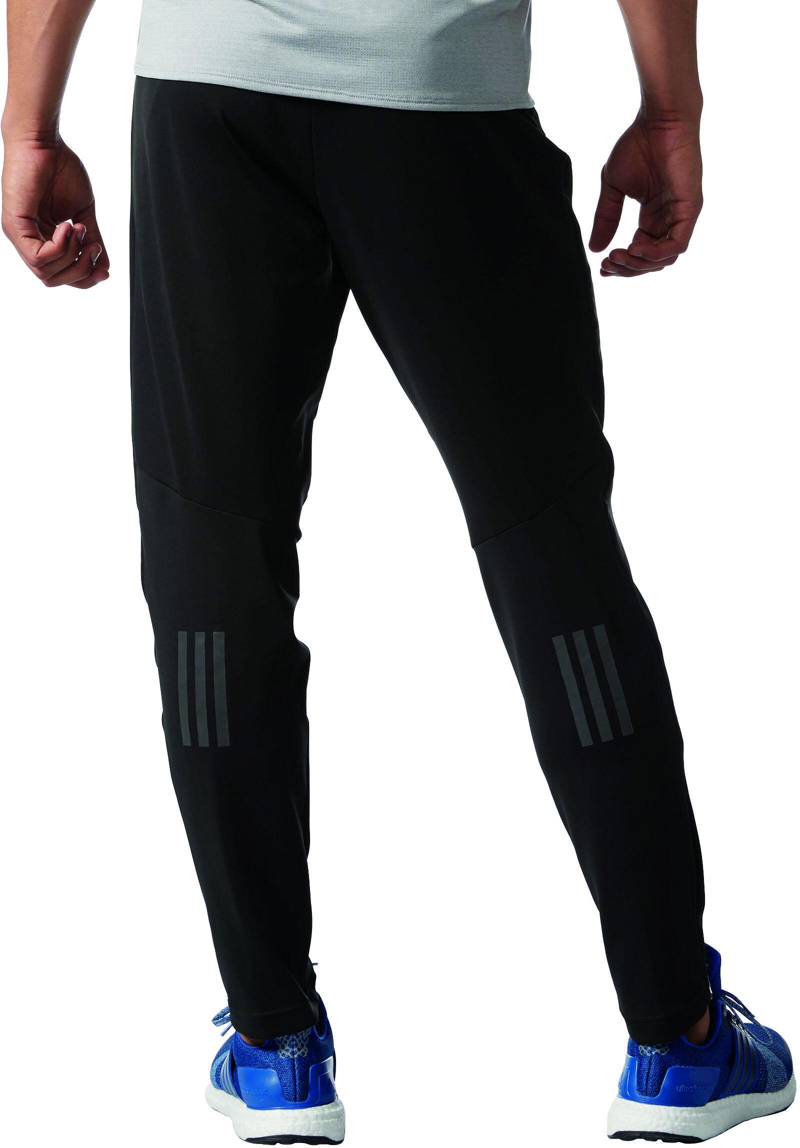 adidas Response - Pantalones largos running Hombre - negro  63cb39ff5645